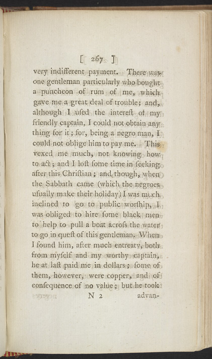 The Interesting Narrative Of The Life Of O. Equiano, Or G. Vassa -Page 267